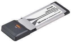 D-Link DWA-643 Aдаптер беспроводной Expresscard стандарта 802.11n