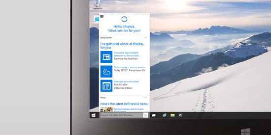 Cortana у персональных компьютеров