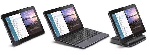 Ноутбук планшет Dell оснащен Windows 8.1
