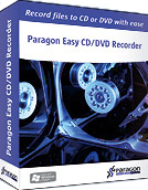 Paragon Easy CD/DVD Recorder, 1 лицензия