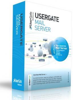 UserGate Mail Server 2.X кол-во сессий до 75