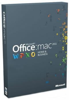 Office Mac Home and Business на 1 ПК. Английский.(Электронная лицензия)