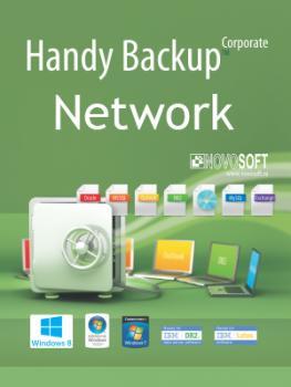 Handy Backup Network + 49 Сетевых агентов для ПК