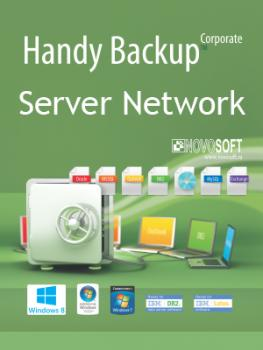 Handy Backup Server Network + 99 Сетевых агентов для ПК + 10 Сетевых агентов для Сервера
