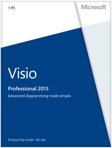 Visio 2013 Professional. English (электронная лицензия)