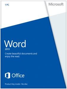Word 2013 English. Некоммерческая версия (электронная лицензия)